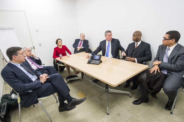 De Blasio Makes Five Appointments Hours Before Taking Office