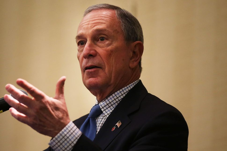Bloomberg Defends Legacy as de Blasio Touts New Parks Initiative