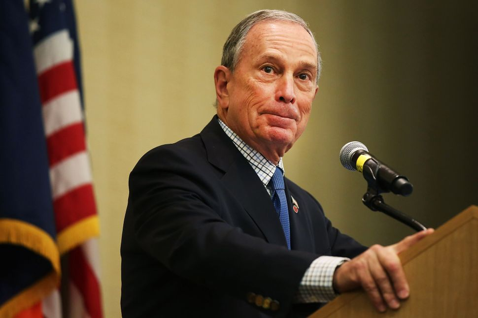 Michael Bloomberg Keeps It Apolitical at Genesis Prize Event