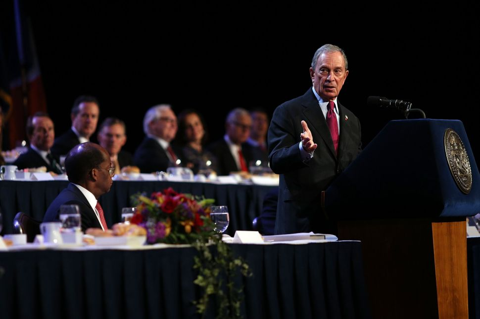 Bloomberg Sounds Alarm Over 'Labor-Electoral Complex' in Final Speech as Mayor