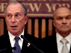 Michael Bloomberg and Ray Kelly. (Photo: Spencer Platt for Getty Images)