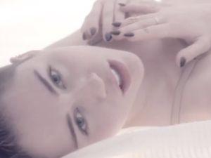 Miley Cyrus in 'Adore You.' (Screenshot via YouTube)