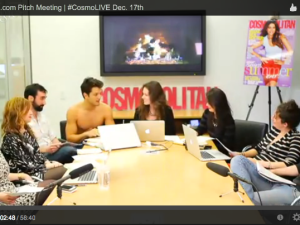Cosmo Pitch meeting