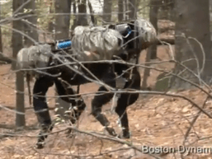 Nope. (Photo: Boston Dynamics/YouTube)