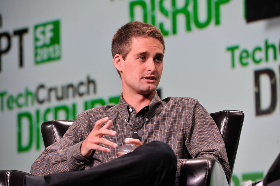 Snapchat CEO on Meeting Mark Zuckerberg: Meh