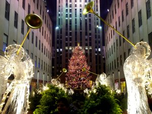 The Rockefeller Center Christmas tree. (Photo:Chris Hondros/Newsmakers)