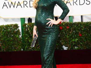 Olivia Wilde, slightly pregnant.