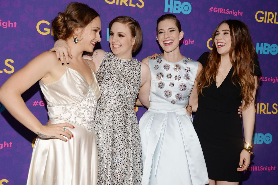 """Girls"" Gone Mild? Lena Dunham Keeps Clothes on at Third Season Premiere"