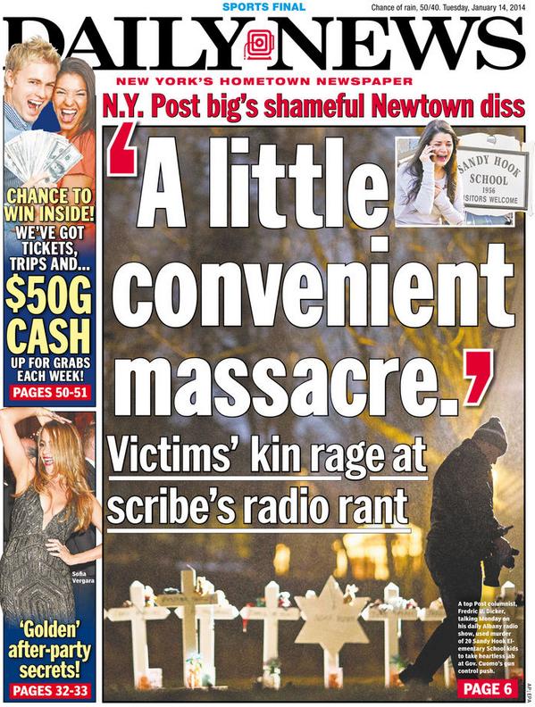 Tabloid War Ramps Up: The <em>Daily News</em> Goes After The <em>Post</em>