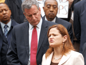 Mayor Bill de Blasio and Council Speaker Melissa Mark-Viverito. (Photo: BilldeBlasio.com)