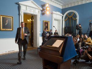 Mayor de Blasio press conference