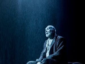 Frank Langella as King Lear. (Photo by Johan Persson)