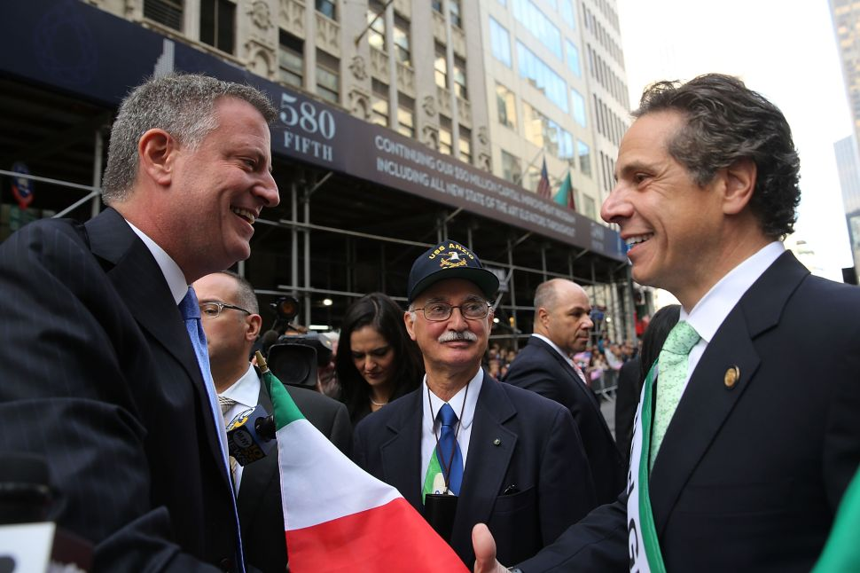 De Blasio Has 'Productive' Meeting With Cuomo in Albany