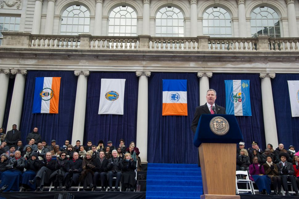 De Blasio Shelled Out Nearly $2 Million on Inauguration and Transition, Latest Filings Show