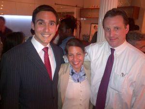 Gus Christensen with Upper East Side Councilman Ben Kallos.