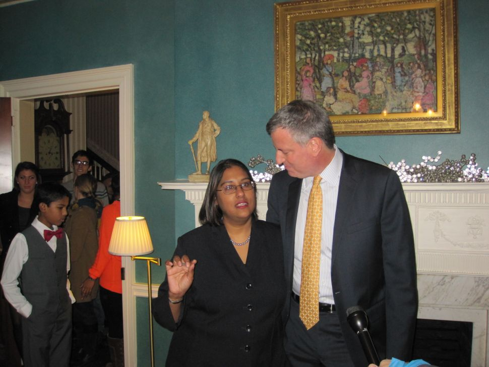 Bill de Blasio Plays Host at Gracie Open House