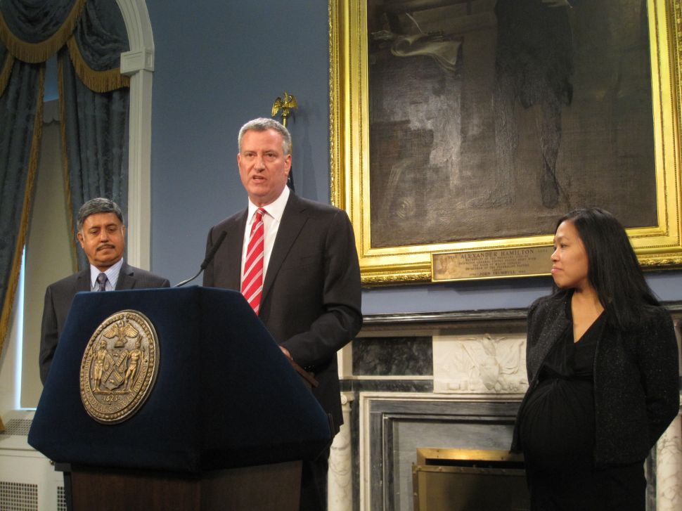 Bill de Blasio's First Budget Full of Uncertainty