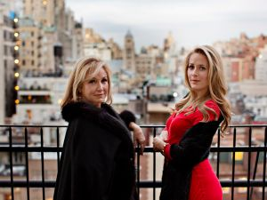 Victoria and Cristina Cote at The Pierre Hotel in New York City. (Photograph by Dorothy Hong)