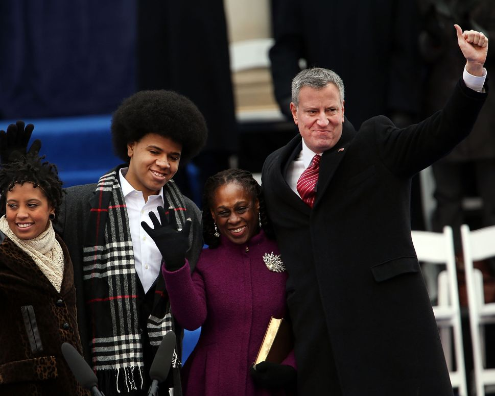 'We Will Succeed as One City': De Blasio Doubles Down on Campaign Vows at Inauguration