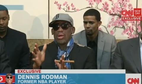 Dennis Rodman on CNN.