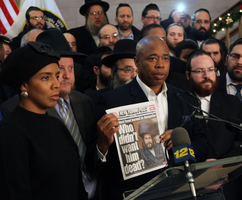 Outraged Officials Demand New York Post Apologize for Coverage of Slain Businessman