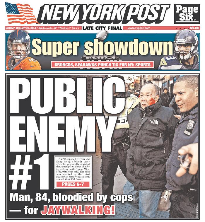 Mayor de Blasio Defends Local NYPD Crackdown on Jaywalking
