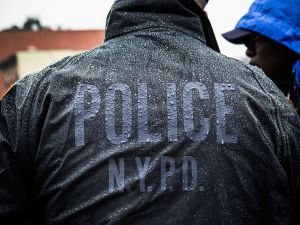 You can't turn your back on this- arrests by NYPD officers have decreased since two officers were killed.