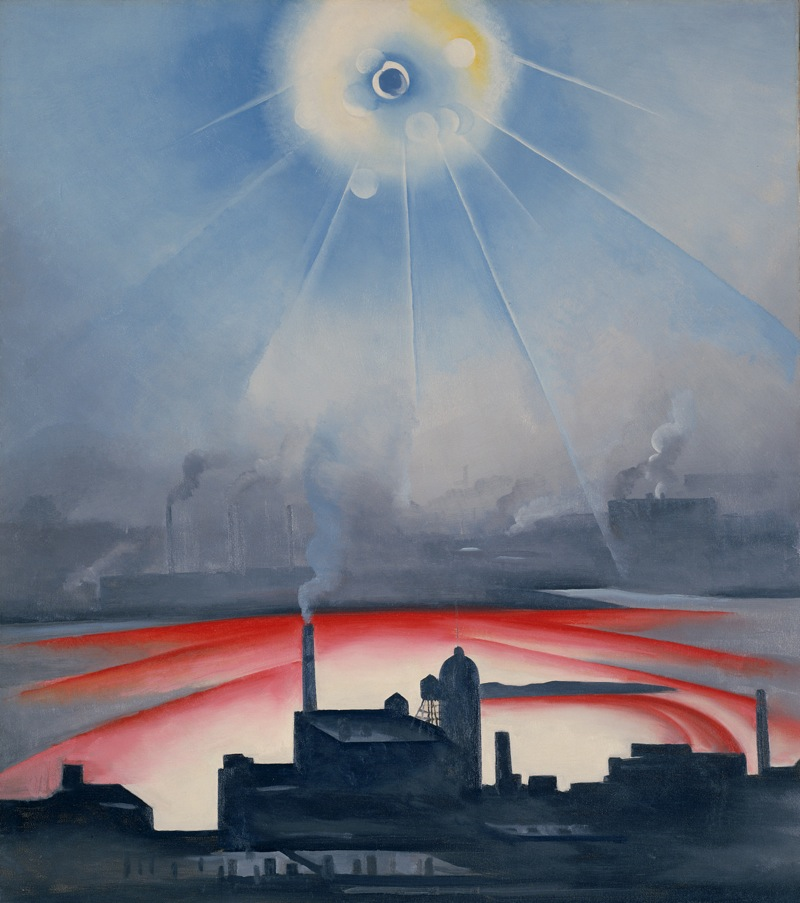 'Industrial Sublime: Modernism and the Transformation of New York's Rivers, 1900-1940' at the Hudson River Museum