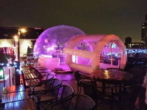 Inflated: A Luxury Bubble Bar Could Be Floating to a Rooftop Near You