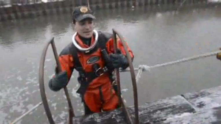 Dark & Stormy: The Gowanus Gets Its Very Own Scuba Diver
