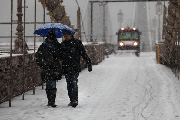 Snow Exit: Winter Storm Strands Sad Broncos Fans