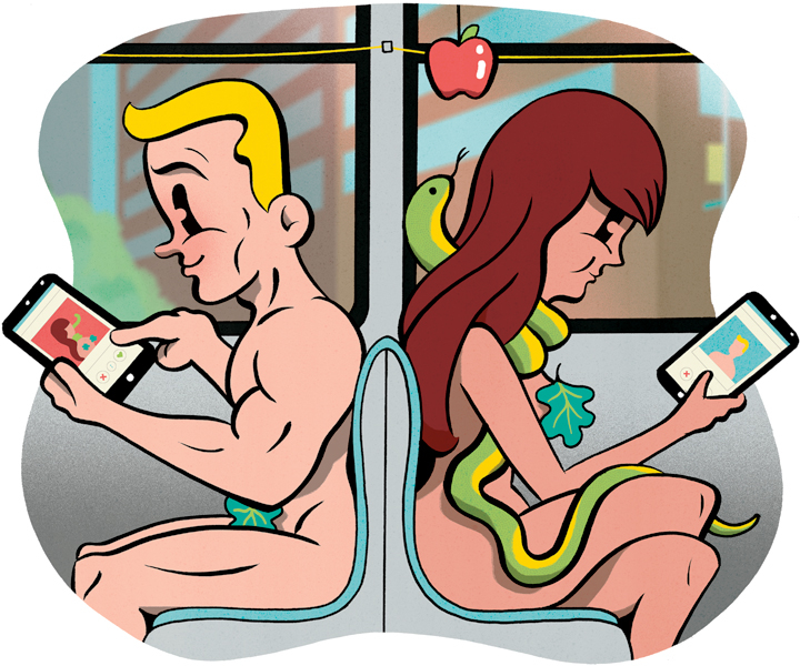 Tinder Is The Night: High-Speed Digital Dating Gets You More Ass Than the L Train