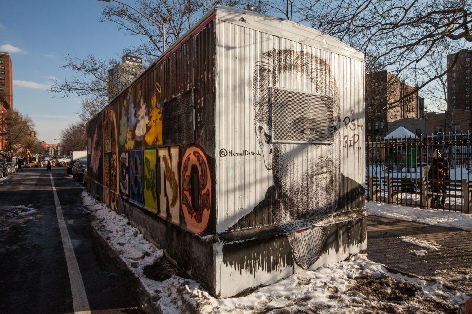 In Loving Memory: Philip Seymour Hoffman Gets the Street Art Treatment