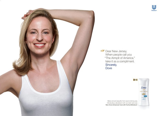 Dove Shelves Armpit Billboard Campaign After New Jersey Residents Raise a Stink