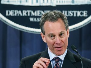 Eric Schneiderman. (Photo by Mark Wilson/Getty Images)