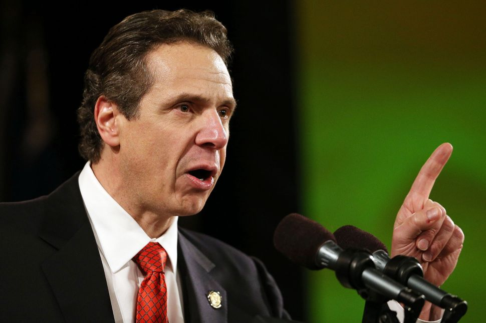 Cuomo Blames Weaker Primary Showing on Unions and '11 People' Voting