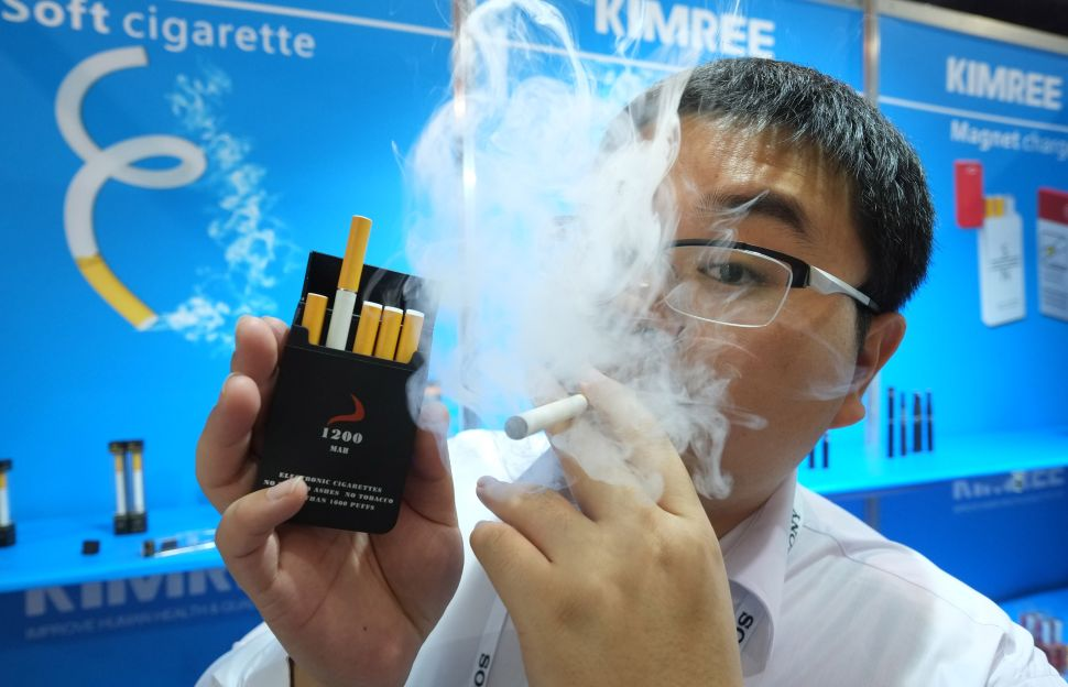 American Vaping Association Fuming Over Proposed Ban on Flavored E-Cigarettes