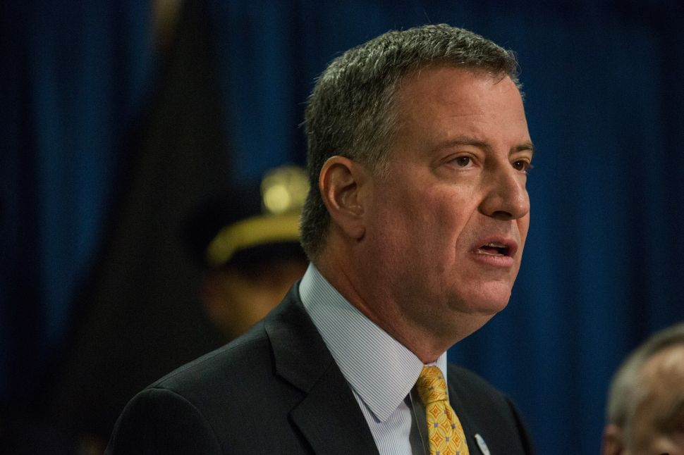 New Poll Shows de Blasio Most Polarizing Citywide Official