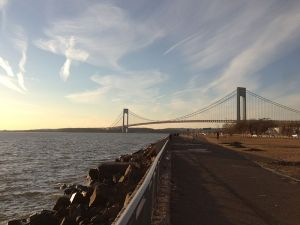 The Verrazano-Narrows Bridge, seen from Brooklyn. (Photo: Wikipedia)