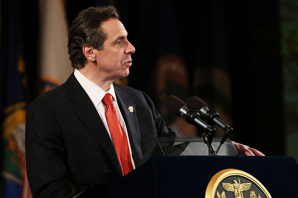 Cuomo Hints at New State Intervention in City Shelter System—With Help From Stringer