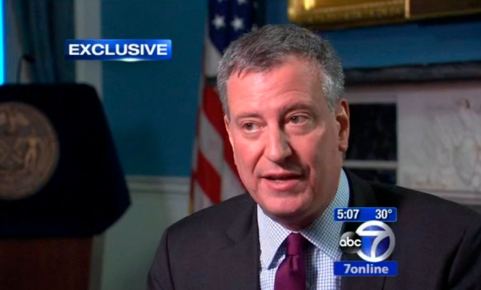 Bill de Blasio Insists He's 'Plenty Sunny' Despite Recent 'Bumps'