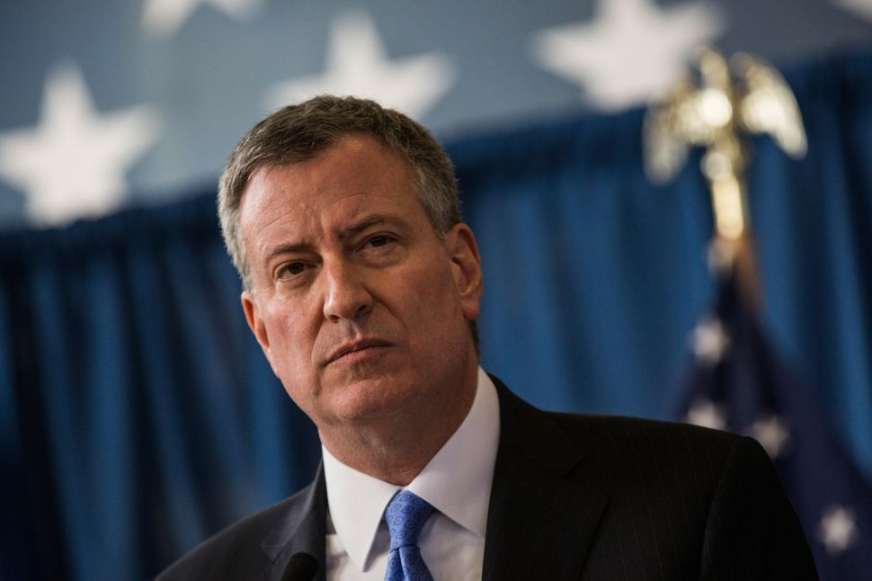 Bill de Blasio Admits Planned Iowa Presidential Forum Was a Failure