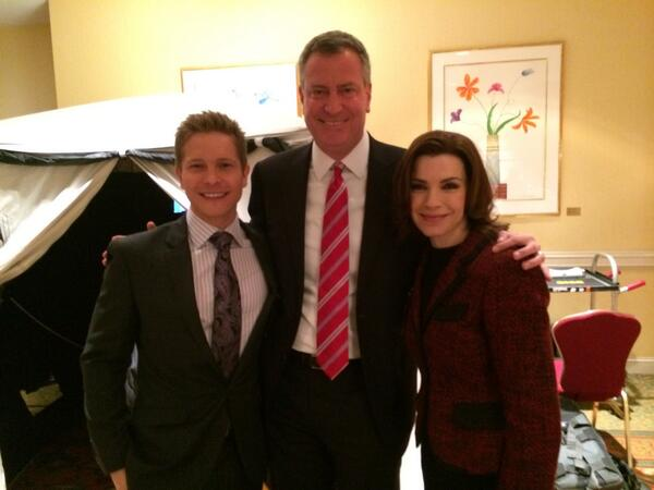 Bill de Blasio Very Excited to Appear on The Good Wife