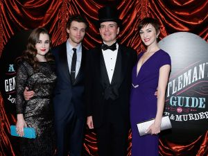 Lauren Worsham, Bryce Pinkham, Jefferson Mays and Lisa O'Hare.