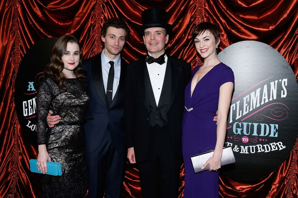 Valentine's Day Massacre: Broadway Stars Jefferson Mays, Norbert Leo Butz and Cynthia Nixon Offer Valentine's Day Devotions