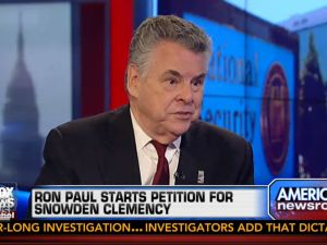 Pete King, (screengrab: foxnews.com)