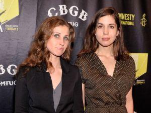 Maria Alyokhina and Nadezhda Tolokonnikova of Pussy Riot. (Photo: Stephen Lovekin/Getty Images for CBGB)