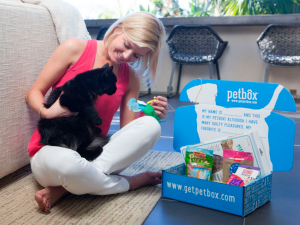 Look how excited that cat looks. (PetBox)