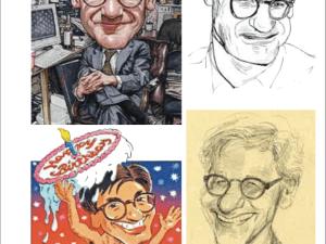 Peter Kaplan at the Society of Illustrators
