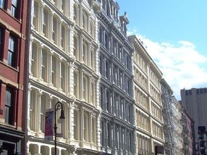 A snapshot of the Soho Cast Iron District. (Photo via Wikimedia Commons)